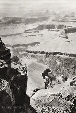 1934 Vintage 11x14 ~ ARIZONA ~ Grand Canyon Colorado River Photo Art ~ HURLIMANN