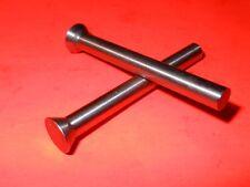 "(Qty 10) BH Pin .217""  Dia x 2"" Long Bevel Head Precision Gauge Punches/Royal"