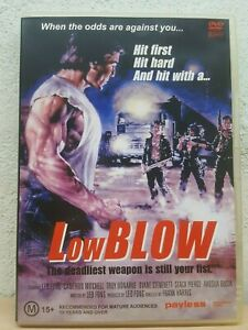 Low Blow DVD ACTION Leo Fong, Cameron Mitchell - RARE MOVIE - Region 4 PAL