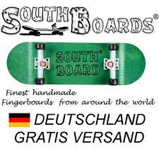 Komplett Holz Fingerskateboard GR/WS/SWZ  SOUTHBOARDS® Handmade Wood Fingerboard