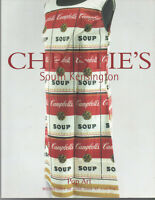 CHRISTIE'S Pop Art 2004 So Kensington Warhol Hockney Lichtenstein Oldenburg