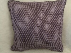 """OBI BY FLAMANT 1 SINGLE 18"""" CUSHION COVER - DOUBLE SIDED/PIPED/ZIP"""