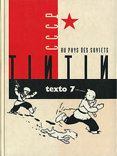 RARE EO 1990 HERGÉ AGENDA TEXTO 7 / TINTIN AU PAYS DES SOVIETS