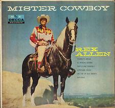 "REX ALLEN ""MISTER COWBOY"" COUNTRY 60'S LP DECCA 8776"