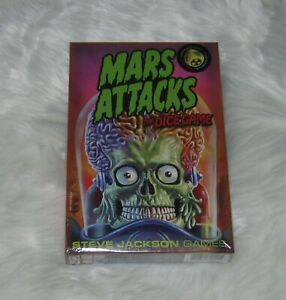 Mars Attacks The Dice Game Steve Jackson Games NEW 2014 1st Edition 1st Printing
