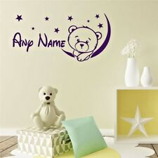 Customized Personalized Name Wall Sticker Children Bedroom New Art Decal