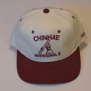Chinhae Invitational II VintageWhite Snapback Very Good