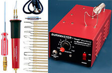 230v EUROPEAN version - MASTERCARVER BURNMASTER HAWK woodburner + pen + tips