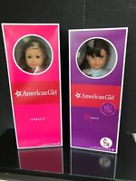 New In Box TWO American Girl Dolls Isabelle & Grace Doll Lot Mint Condition