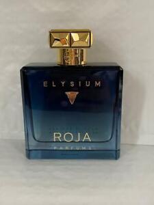 Roja Elysium Pour Homme Parfum Cologne 100ml/3.4OZ Sprayed Once No Box