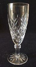 Flûte champagne Hauteur 15,1 cm cristal de Lorraine  taillé France