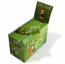 Zig Zag Standard Green Rolling Paper - Box Of 100 Booklets