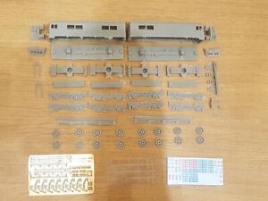 N scale Kit for assembly Soviet Electric Locomotive VL 8 SZD