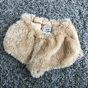 DROPDEAD Bunny Fluffy Shorts Petite Size 4