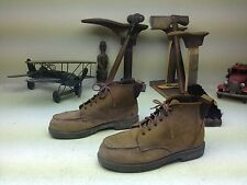 STEEL TOE BROWN RED WING MADE IN USA LACE UP ENGINEER WORK BOOTS SIZE 5.5 B