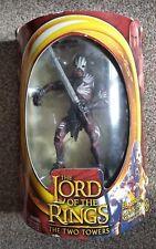 The Lord of the Rings The Two Towers Berserker Uruk Hai 2002 ToyBiz Brand New
