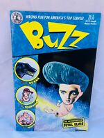 BUZZ #3 KITCHEN SINK 1990 THE ADVENTURES OF FETAL ELVIS NM/MINT GORGEOUS GET IT!