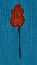 beatles red pinback badge DUTCH 1960s RARE