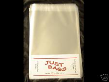 100 A4 Cellophane (cello) bags + self-seal strip - Photo / card protection