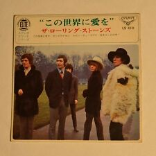 """ROLLING STONES - We love you - 1967 JAPAN 7"""" EP 4-TRACKS"""