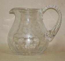 Spätbiedermeier um 1850/1870 - Bleikristall Krug - Schenkkanne Kristall Kanne