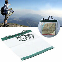 2016Waterproof Outdoor Camping Hiking Clear Map Cover Storage Case Dry Bag ME