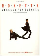 """ROXETTE """"DRESSED FOR SUCCESS"""" SHEET MUSIC-PIANO/VOCAL/GUITAR-1989-VERY RARE-NEW!"""
