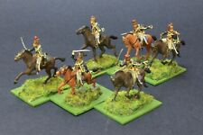 1/72 scale 6 ESCI BRITISH LIGHT DRAGOONS Napoleonic PRO PAINTED