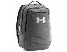 Under Armour 2017 UA Hustle LDWR Backpack Rucksack Gym School Bag Gray 1273274