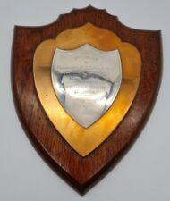 More details for ww2 british presentation plaque commander e t grayston to horwich girls school
