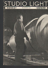 Studio Light Magazine Photography Eastman Kodak December 1935 Occupation