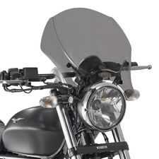 GIVI 140S+AL8202A CUPOLINO SPOILER PLEXIGLASS X MOTO GUZZI V9 ROAMER / V9 BOBBER