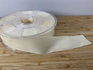 Thick Velvet Ribbon. Cream Christmas Ribbon 26mm SOLD PER METER wedding Crafts