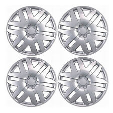 "New 4 Pcs Silver 15"" Hub Caps Wheel Cover Set Toyota Sienna 2004-2010 Style -997"