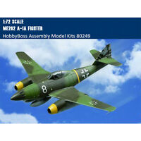 HobbyBoss 80249 1/72 Me262 A-1a Fighter Plastic Aircraft Assembly Model Kits