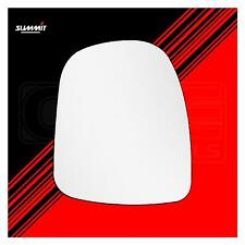 Commercial Replacement Mirror Glass - Summit SCG-07L - Fits Vauxhall LHS