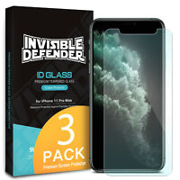 For iPhone 11 Pro, 11 Pro Max Screen Protector Ringke Tempered Glass 0.33 3 Pack