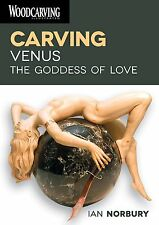 Ian Norbury Carving Venus 2 disk DVD lessons NEW nude woodcarving girl