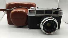+Vintage Yashica Minister Camera Yashinon 1:2.8 f=4.5cm Lens Japan KameraWORKING