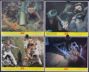 THE DEEP 1977 AUTHENTIC 8X10 NR-MINT LOBBY CARD SET NICK NOLTE JACQUELINE BISSET
