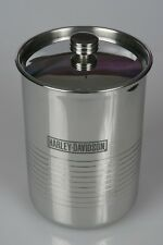 Harley Davidson Motor Cycles Couzon Stainless Wine Bucket Chiller Cooler FRANCE