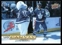 2019-20 Upper Deck UD Canvas #C1 John Tavares - Toronto Maple Leafs