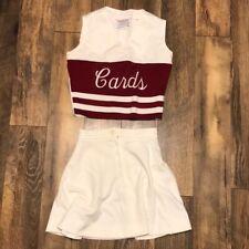 Vintage High School Cheerleader Uniform Varsity Cardinals
