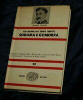 Marcel Proust Sodoma e Gomorra Einaudi 1971 Alla Ricerca del Tempo Perduto A21