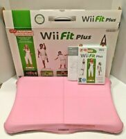 NINTENDO Wii FIT PLUS W/ balance board, Fit Plus game, jeli sleeve, carry bag!
