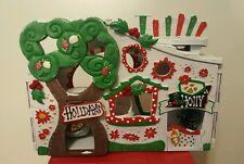 Holly Jolly Christmas House * OOAK Hand Painted Custom Littlest Pet Shop