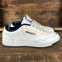 Reebok Mens Club MEMT V67513 White Lace Up Classic Walking Shoes Size 9.5