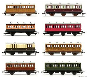Hornby 4 & 6 Wheel coaches, Various liveries & combinations available. U Choose