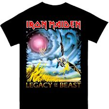 More details for iron maiden - legacy of the beast n. america tour 2019 official licensed t-shirt