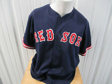 VINTAGE MAJESTIC BOSTON RED SOX ROGER CLEMENS #21 LARGE SEWN JERSEY PRE-OWNED